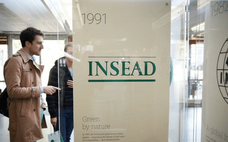 INSEAD's Innovation Competition challenged MBA students at the school to pose business solutions to COVID-19 problems © INSEAD via Facebook