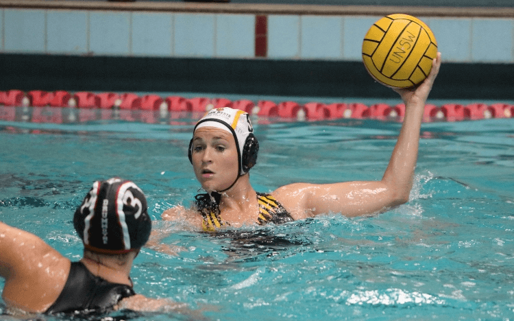 Professional water polo player, Allison Loomis, is using an MBA to build business skills and transition into a new career