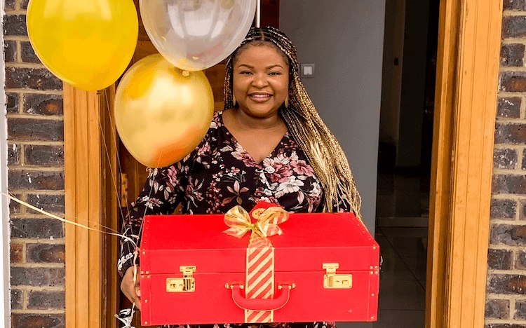 Adetobi Solanke started her gift startup, the Pamper Trap Company, after a chance opportunity arose