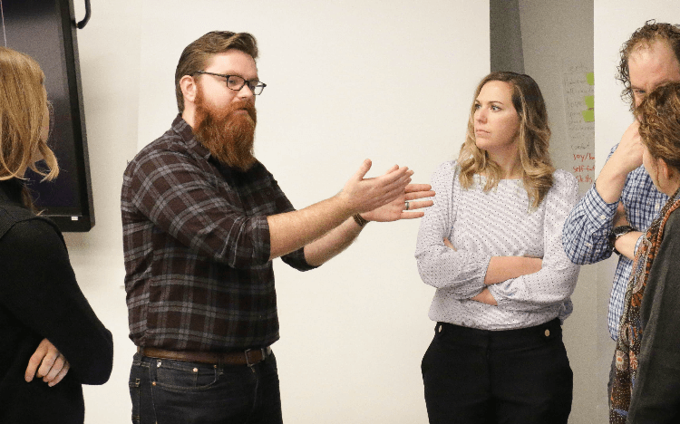 Terry College MBAs at their 2019 Business Innovation Lab