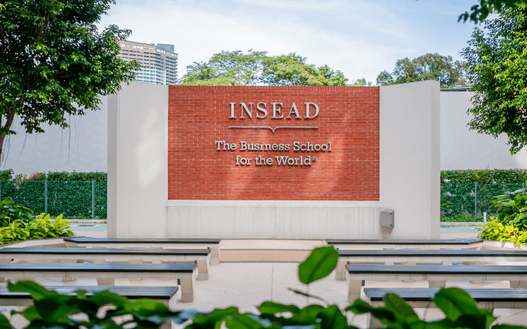 GMAT vs GRE: INSEAD accepts both the GMAT and the GRE ©INSEAD-Facebook