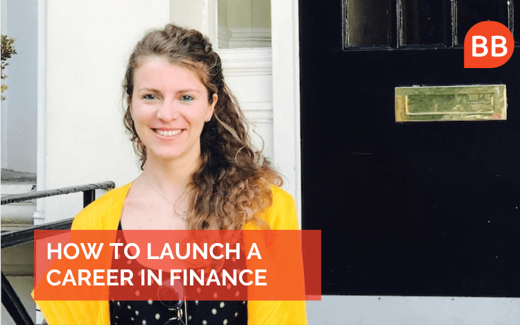 Investment banker Giulia Bardelli offers her advice on launching a career in finance