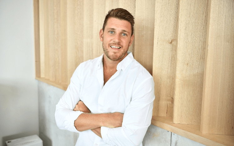 An injury forced Tony Caine to leave his rugby career behind, but now his entrepreneurial career is soaring