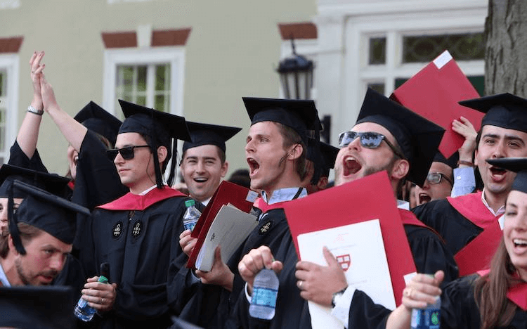 Schools like Harvard will be celebrating an increase in overall applications to US business schools ©HBS Facebook