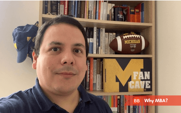 Why MBA: Find out why Peruvian banker Christian Rodriguez chose the Michigan Ross MBA
