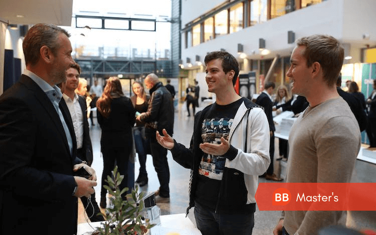 Business masters students from schools like BI Norwegian Business School can expect a number of payoffs after graduation (Credit: BI Facebook)