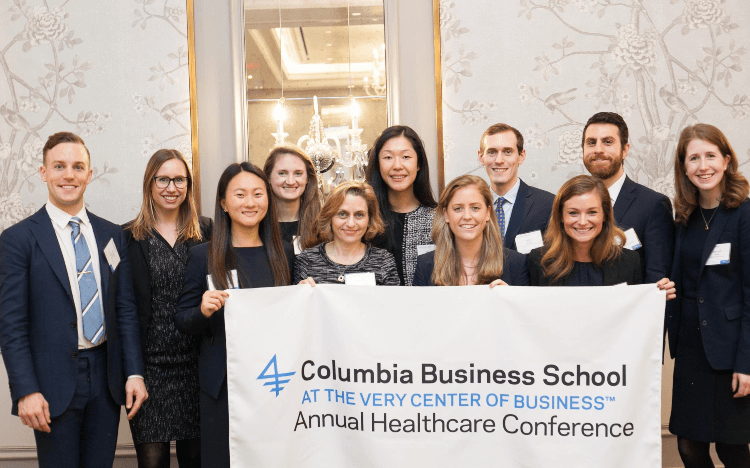 Columbia Business School MBA Jobs & Salary Review: CBS MBAs earn $150,000 on average and 90% receive job offers within 3 months (c)Columbia-Facebook