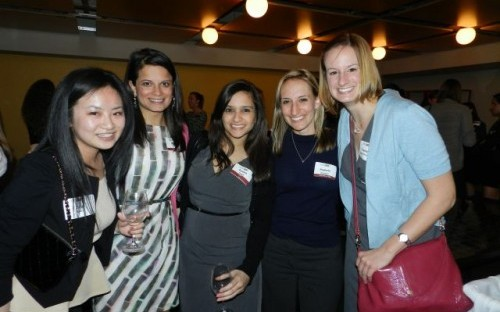 The Women's Week event in Chicago. Chicago Booth's Women's Alumnae Network is the only one of its kind at a business school