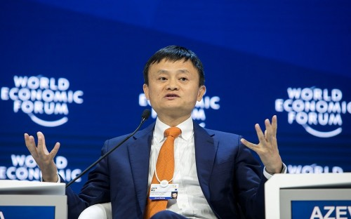 Alibaba CEO and founder Jack Ma is an all-star alum from Cheung Kong Graduate School of Business