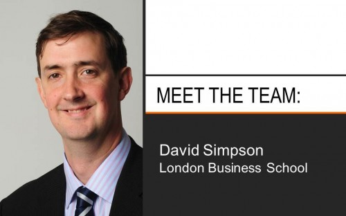 David Simpson heads up both MBA and Master's in Finance admissions at LBS.