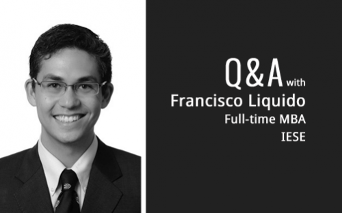 Franciso Liquido is building his search fund expertise with help from the IESE Business School MBA