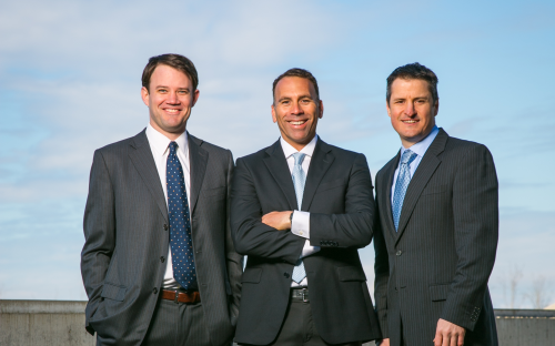 Privateer Holdings co-founders Michael Blue, Christian Groh and Brendan Kennedy