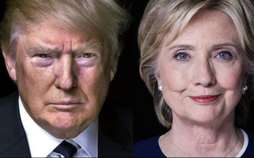 Both the presidential hopefuls take their own approach to leadership