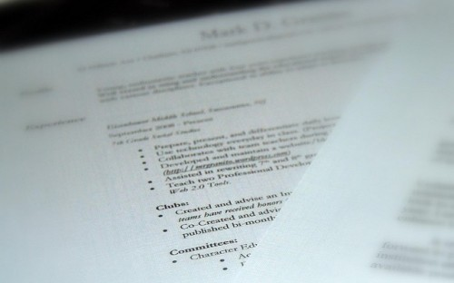 how to create an impressive resume