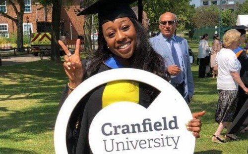 Ebunoluwa landed a job at Skanska after graduating from Cranfield School of Management