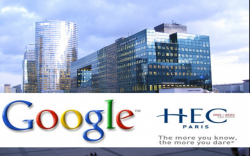 The Google@HEC Chair is the first time the Silicon Valley giant has financed a Chair in a business school
