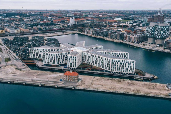 UN City is on the waterfront in Copenhagen; Daniela is thriving in her UNOPS leadership role there