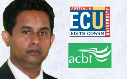 Pubudu studied at Edith Cowan's partner college in Sri Lanka