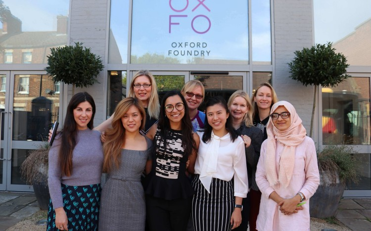 The University of Oxford's L.E.V8 Women program is just one example of women's networks at b-school