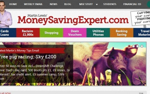 Advice site MoneySavingExpert.com recently sold to MoneySupermarket.com for £87m, netting its Founder Martin Lewis £35m!