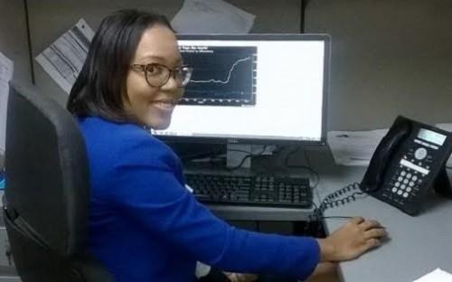 Jamaican student Safiya Carroll chose Birmingham for its global reputation
