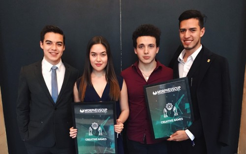 EU Business School students have won accolades across the globe, including at Paris's Morpheus Cup