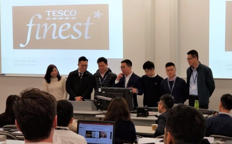 MBA students on the CityU MBA get to visit global brands at their offices in London