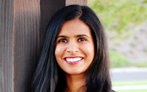 Roshni Raveendhran is a new faculty member at the University of Virginia Darden School of Business
