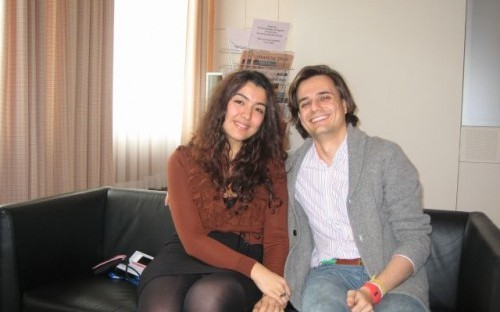 Gizem and Javier, both on ESMT's full-time MBA, due to graduate in December 2012