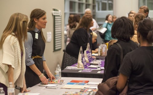 MBA fairs are an embarrassment of riches for resourceful business school applicants