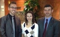 The Manchester team at the MIT Sloan Sports Analytics Conference