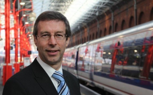 Rob Brighouse, MD of Chiltern Railways moved from engineering to management after his MBA