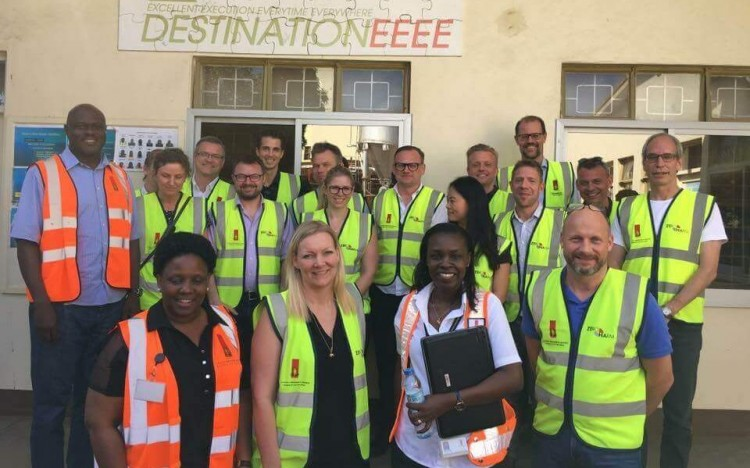 CBS GEMBA students have an annual study trip to Kampala, where they collaborate with MUBS students