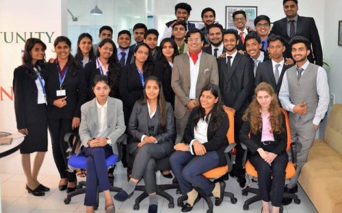 MBA students at Athena School of Management are well-placed to succeed in corporate India