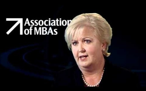 Sharon Bamford, Chief Executive of the Association of MBAs (AMBA).