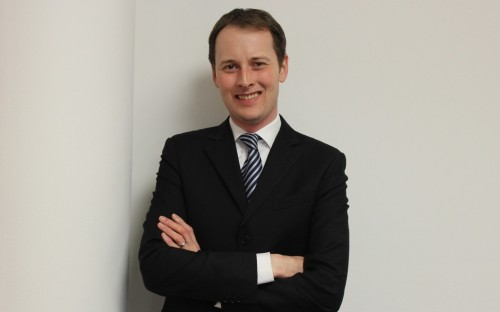 Torben Müller works as global relationship development manager at GE Capital