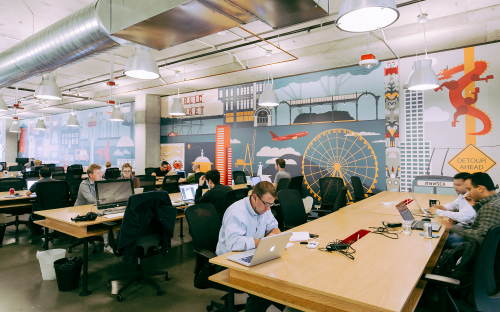 Shared space: WeWork is challenging the traditional notion of the office