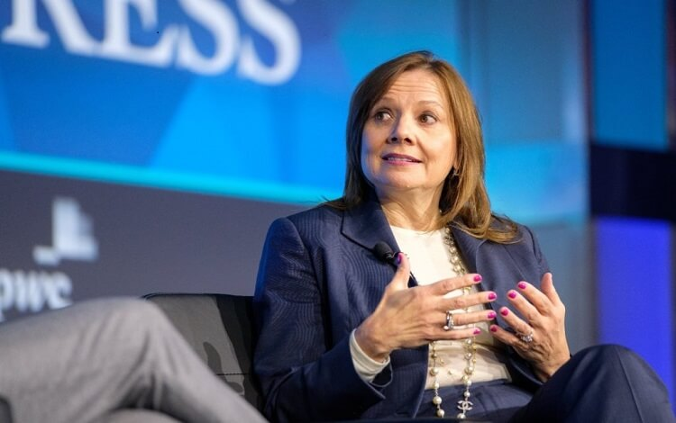 Mary Barra, CEO of General Motors, is a notable Stanford University alumni