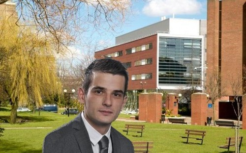 Periklis Papinikolaou, engineering graduate, says sustainability is different to ethics