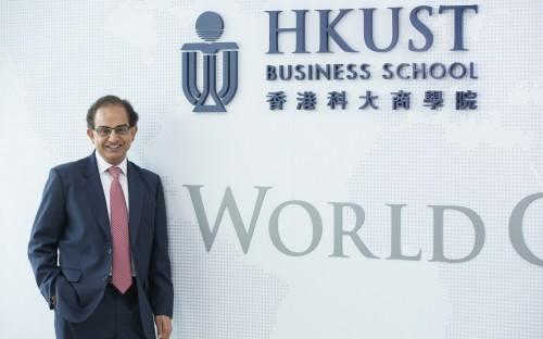 Professor Jitendra V Singh, dean of HKUST Business School, values international partners