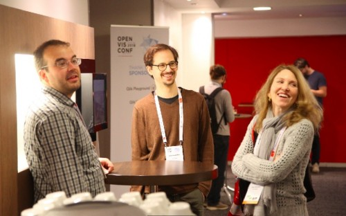 EMLYON Business School's Data R&D Institute hosted the OpenVis Conference on visualizing data in May