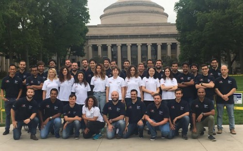 The entire Lisbon MBA class take part in the one-month immersion at MIT Sloan