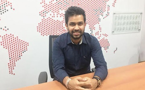 Gaurav Khaitan landed a job at real estate giant JLL after his MBA