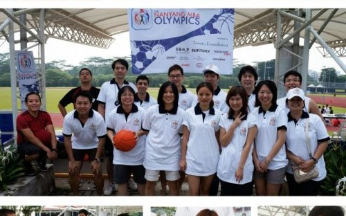 Anyone for Dodgeball? Nanyang's Corporate Social Responsibility and Women in Business Clubs organized the MBA Olympics