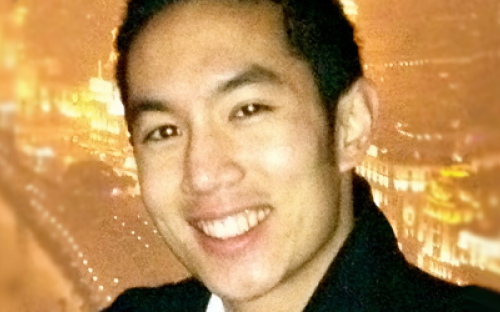George Jiang will graduate from SAIF's two-year Master of Finance in June 2012