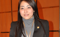 Jie Jiao, President of the Student Association