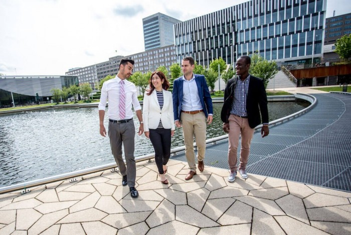 Rotterdam School of Management students do part-time internships during the one-year MBA