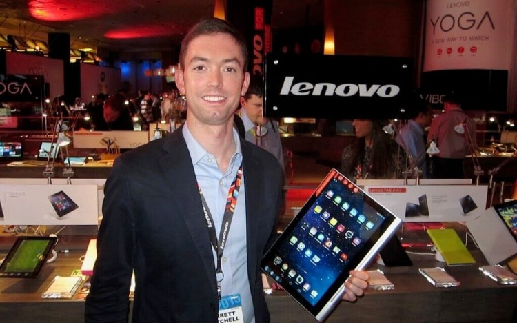Garrett used the Beijing International MBA to achieve his ultimate goal, a job with Lenovo in China