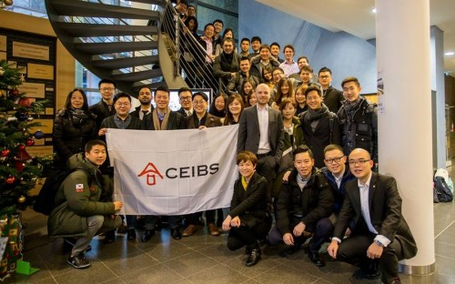 CEIBS MBAs learnt more about the digitization of manufacturing in Germany