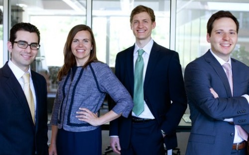 Daniel Butterly, Michaela LeBlanc, Rance Barber, Konstantin Nikolaev: Tuck Investment Club Chairs